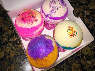 BATH BOMBS CUSTOMIZED 10 OUNCES