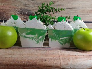 green apple explosion soap