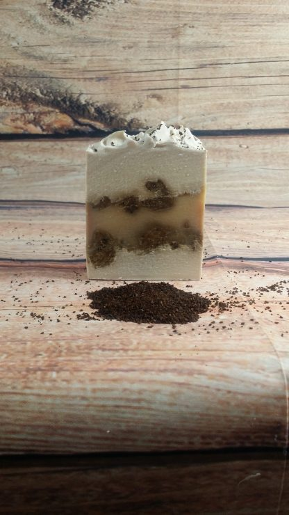 peppermint patty and mocha soap