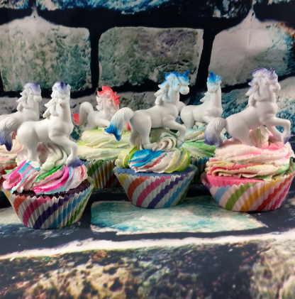 Unicorn Cupcake Bath Bomb