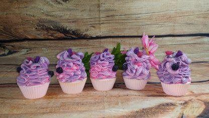 Black Raspberry Vanilla Cupcake Soap
