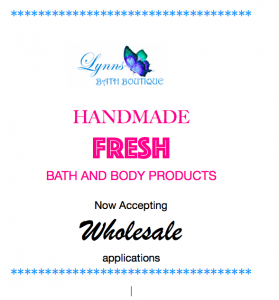Wholesale Bath and Body