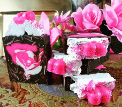 Pink Sugar Soap